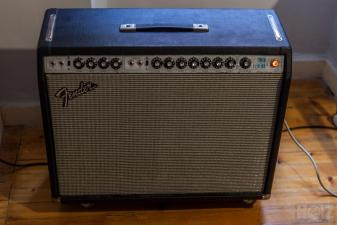 FENDER TWIN REVERB SILVERFACE 1975