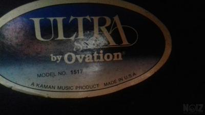 Ovation 1517 usa