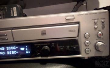 SONY compact disc recorder