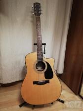 Ακουστική Κιθάρα Fender CD-60ce NAT + Θήκη + Μini Tuner + Αναλόγιο + Β�