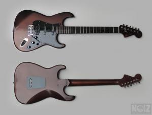 Vintage Bronze Stratocaster Burretone Guitars
