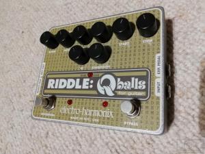Electro Harmonix Riddle Q balls Envelope Filter Pedal