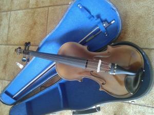Βιολί Antonius Stradivarius Cremonensis Czechoslovakia.