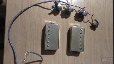 Σετ Μαγνήτες Epiphone με καλωδιωση