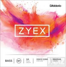 Χορδές Κ.μπάσου D'Addario ZYEX Medium