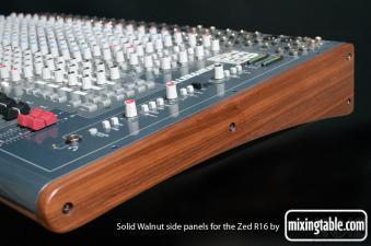 Allen& Heath ZED R-16 w/ Walnut Wooden Panels