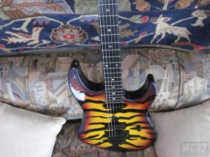ESP George Lynch Signature Series Sunburst Tiger 1992