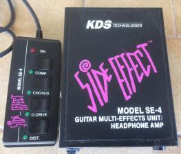 KDS Side Effect Model SE-4 (Guitar Multi-Effects Unit)