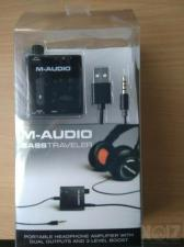 M Audio Bass Traveler Portable Headphone Amplifier