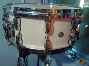 Pearl signature snare Dennis Champers 14x6,5