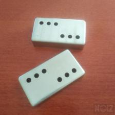 Pickup covers Nickel-Silver