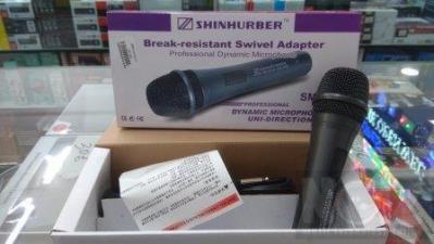SM-300 SHINHURBER Επαγγελματικό δυναμικό μικρόφωνο Ασημί γκρι