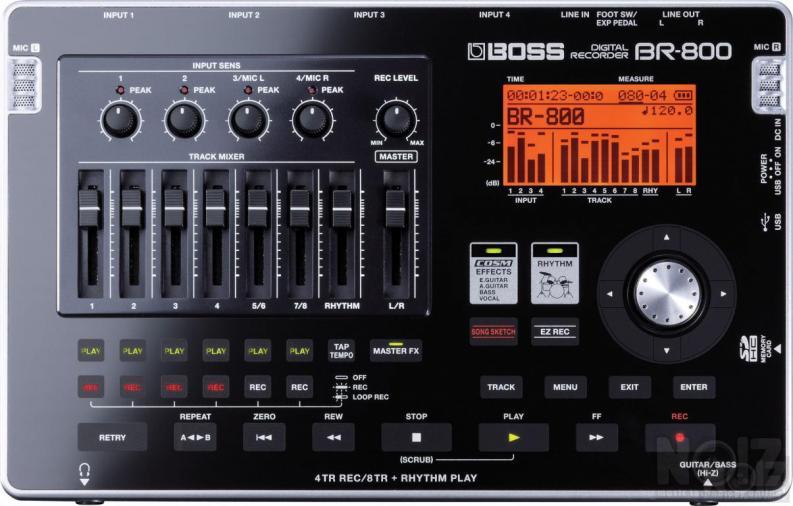 Boss BR-800 Digital Recorder και Ανταλλαγές