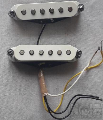 Fender Mexico 80s pickups