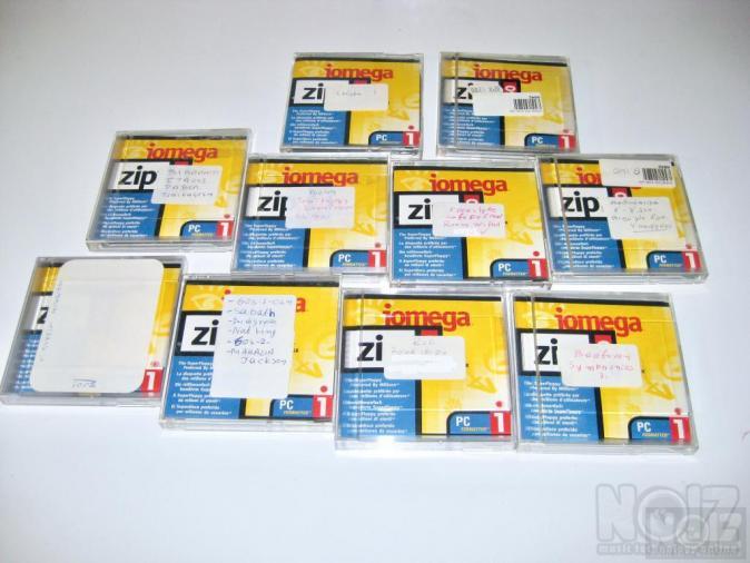 Iomega Zip disks