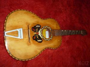 Κιθάρα αντίκα λαϊκή (κιθαρόνι) αναπαλαιωμένη