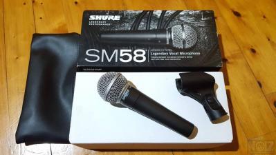 Πωλείται Shure SM58 LC Dynamic vocal microphone