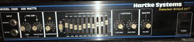 Bass amp Hartke model 3500(350 watt/4ohm)