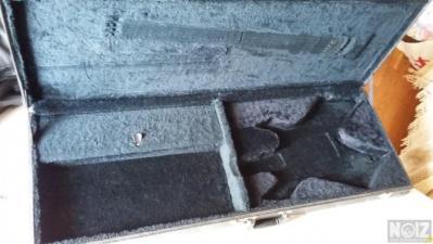 Black fitted warlock hardcase