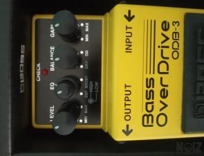 Boss Bass Overdrive+Boss adapter