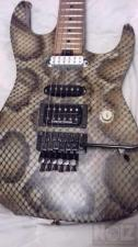 Charvel Warren Demartini Usa Snake Custom