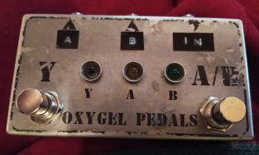 Oxygel Pedal AB box
