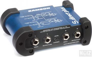 SAMSON S-DIRECT PLUS ACTIVE STEREO DI-BOX