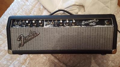 Fender Bassman Blackface original 1966