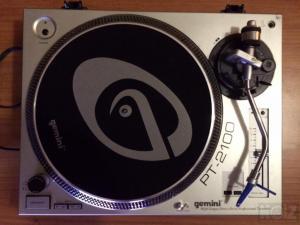 Gemini PT2100 με Ortofon DJ