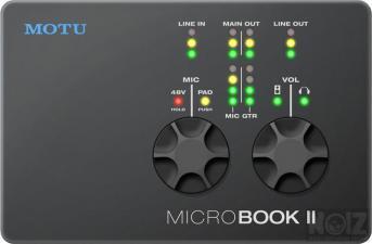 MOTU MICROBOOK 2
