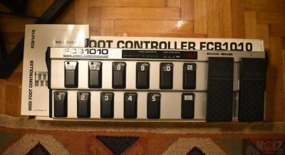 ΠΩΛΕΙΤΑΙ BEHRINGER FCB1010 MIDI FOOT CONTROLLER