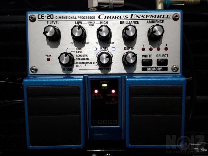 BOSS CE-20 Chorus Ensemble Twin Pedal