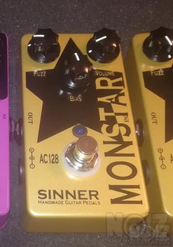 Monstar Fuzz by Sinner Pedals