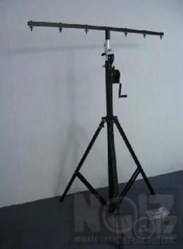 SpTek-4000 Επαγγελματική βάση φώτων με τροχαλία 80kg max
