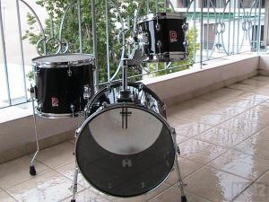 3άρι Μινι Drum Σετ   Made in england