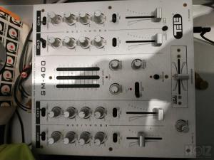 Μικτης ήχου 4 κανάλια dj mixer Tele