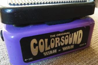 Colorsound wah wah pedal