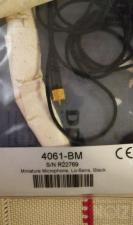 DPA 4061-BM low-sensitivity omnidirectional μικρόφωνο
