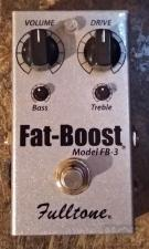 Fulltone FB3 fat boost-ΝΕΑ ΤΙΜΗ