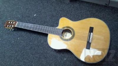 GEAR4MUSIC THINLINE ELECTRO CLASICAL GUITAR