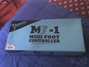 NOBELS MF-1 midi foot controller