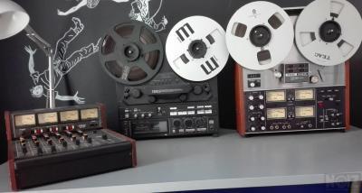 Teac 3340  ,Teac X-2000M , Mixer 2A MB-20