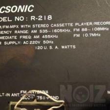 Τελική τιμή! Tecsonic R218 ράδιο ενισχυτής