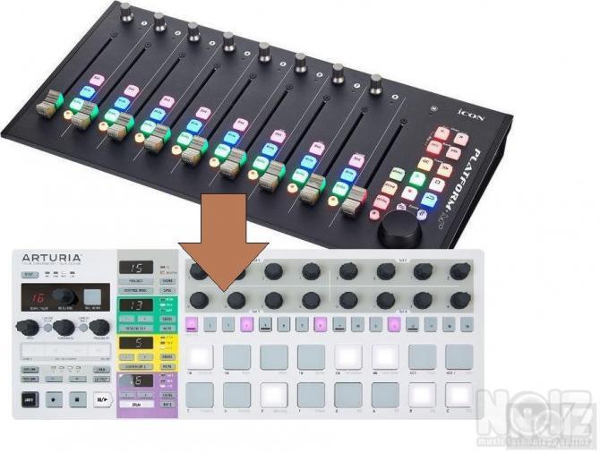 Ανταλλαγή Platform M+ με BeatStep