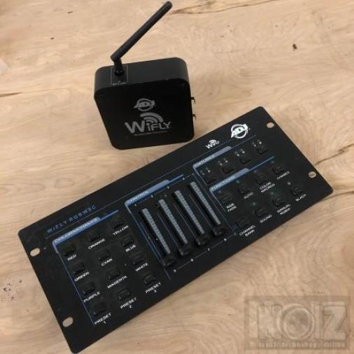 Adj wifly rgbw8c wireless pack