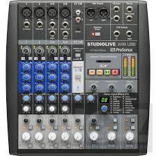 Πωλείται  Κονσόλα / Κάρτα ήχου  Presonus Studiolive ar8 usb (Νέα τιμή