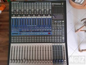 DIGITAL CONSOLA LIVE-RECORDING PRESONUS 16-4-2 EXELLENT!