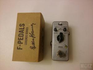 F-PEDALS PhazeVibe - Eddie Kramer Signature Line Phaser Pedal-Legends Series