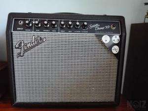 Fender Super Champ XD+dustcover+footswitch