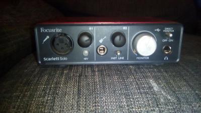 FOCUSRITE SCARLET SOLO 1ST GEN